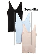 Yummie Seamless 2-Way Shaping Tank in Skyway, M/L (630824) - $15.83