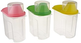 Basicwise Small BPA -Free Plastic Food Saver, Kitchen Food Cereal Storag... - $14.10