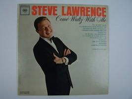 Steve Lawrence – Come Waltz With Me Vinyl LP Record Album CL 1870 - $8.90