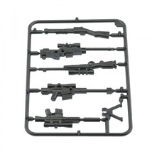 Army military guns weapons pack for lego minifigures minifig accessories set b 2 silver thumb200