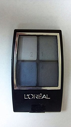 (Pack 2) L'oreal Paris Wear Infinite Star Secrets Eye Quads, Milla's Blues, 0.16