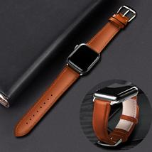 Watch Strap Leather Band Loop Strap For Apple Watch - $23.00