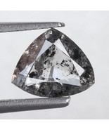 1.16 Ct 7.94 X 6.66 MM Salt and Pepper Triangle Shape Minimal Diamond. - $799.00