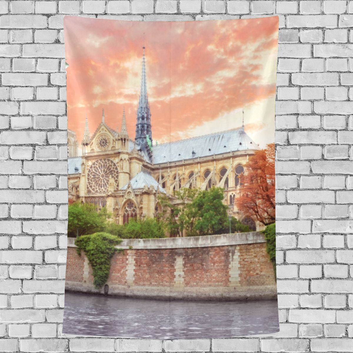 Primary image for Light Hanging Wall Particluar Notre Dame De Paris Pattern Hanging On Wall 40x60