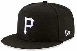 New Era Authentic Pittsburgh Pirates Black & White 9Fifty Snapback OSFM ... - $28.70