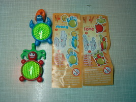 Kinder - 2003 Miss Love & Mister Strong - complete set + 2 papers - surprise egg - $2.50