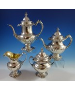 Grande Baroque by Wallace Sterling Silver Tea Set 4pc #4850-9 (#1138) Co... - $5,907.50