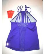 NWT Womens Zella Nordstrom Top L Yoga Pilates Gym New Purple Tank Bra St... - $18.00