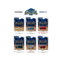 Country Roads / Release 15, 6pc Diecast Car Set 1/64 Diecast Model Cars ... - $57.71