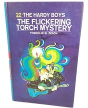 Vintage 1971 The Hardy Boys 22 The Flickering Torch Mystery Franklin W. ... - $19.99