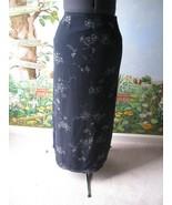 Jones Wear Women's Floral Blue Straight Long Skirt Size 6 - $7.91