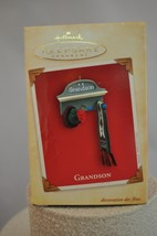 Hallmark - Grandson - Hat - Scarf on Wall Pegs - Keepsake Ornament - $8.61
