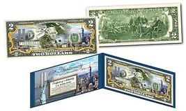 WORLD TRADE CENTER 9/11 WTC 15th Anniversary Colorized US $2 Bill FREEDO... - $13.81