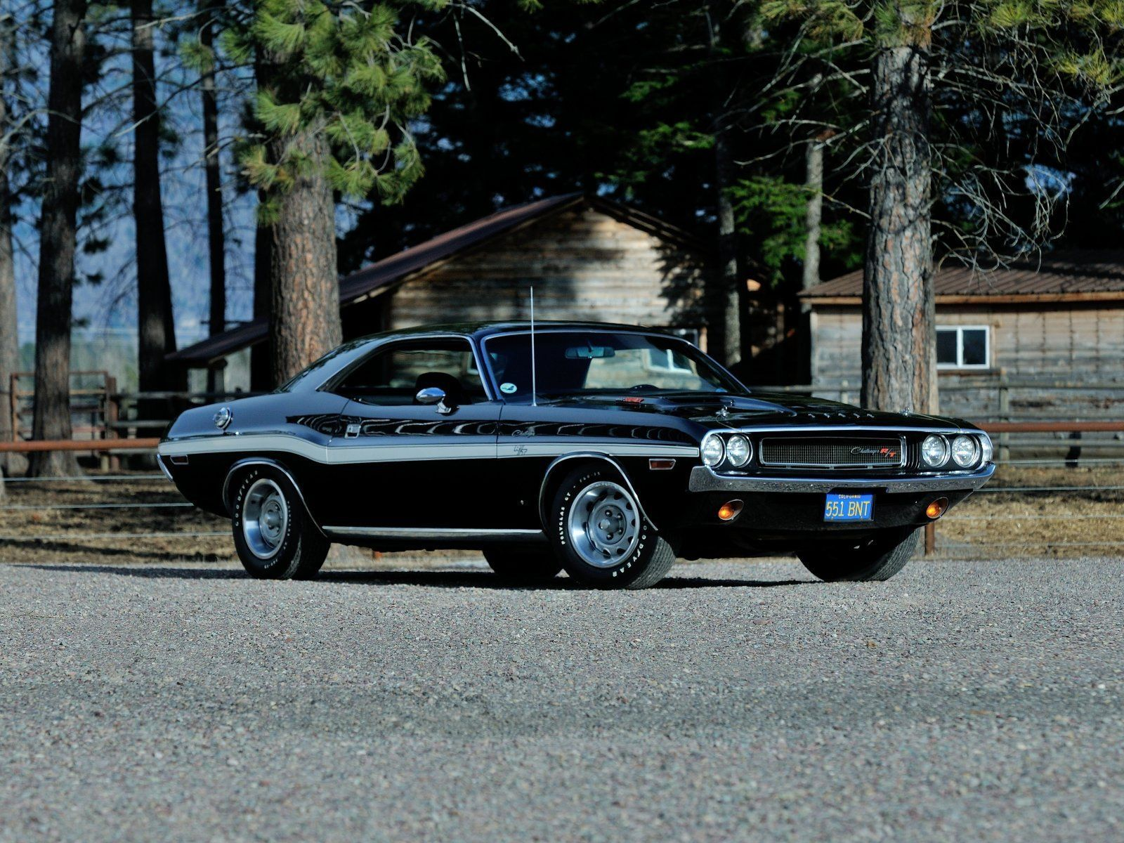Primary image for 1970 Dodge Challenger RT 440 Six Pack l POSTER | 24 x 36 INCH | muscle car |