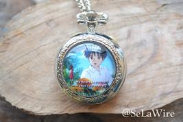 Anime Pocket Watch,Karigurashi no arietti watch necklace, Cartoon Photo ... - $12.00
