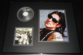 Perry Farrell Signed Framed 16x20 Photo & Jane's Addiction Strays CD Dis... - $163.61