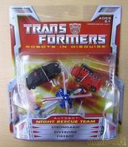 Hasbro Transformers 0653569206446 Night Rescue Team Robot Soft Vinyl Doll - $151.67
