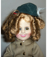VINTAGE  SHIRLEY TEMPLE DOLL  - hard plastic  1982 Ideal - Wee Willie Wi... - $22.00