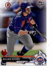 2017 Bowman Holiday Turkey #TH-WB Wuilmer Becerra NM-MT /35 Mets - $15.00