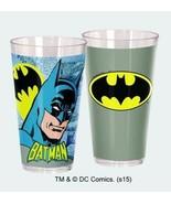 DC Comics Batman Comic Art Images 20 oz Acrylic Cup Set of 2 NEW UNUSED - $9.74