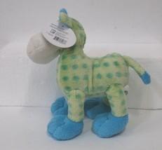 Soft Classics Cow Light Blue Green Polka Dots Ages 0 Plus image 2