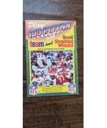 1989 TOUCHDOWN UK ENGLAND NFL CARD SAINTS FALCONS QUARTERBACK BOBBY HEBERT  - $14.99