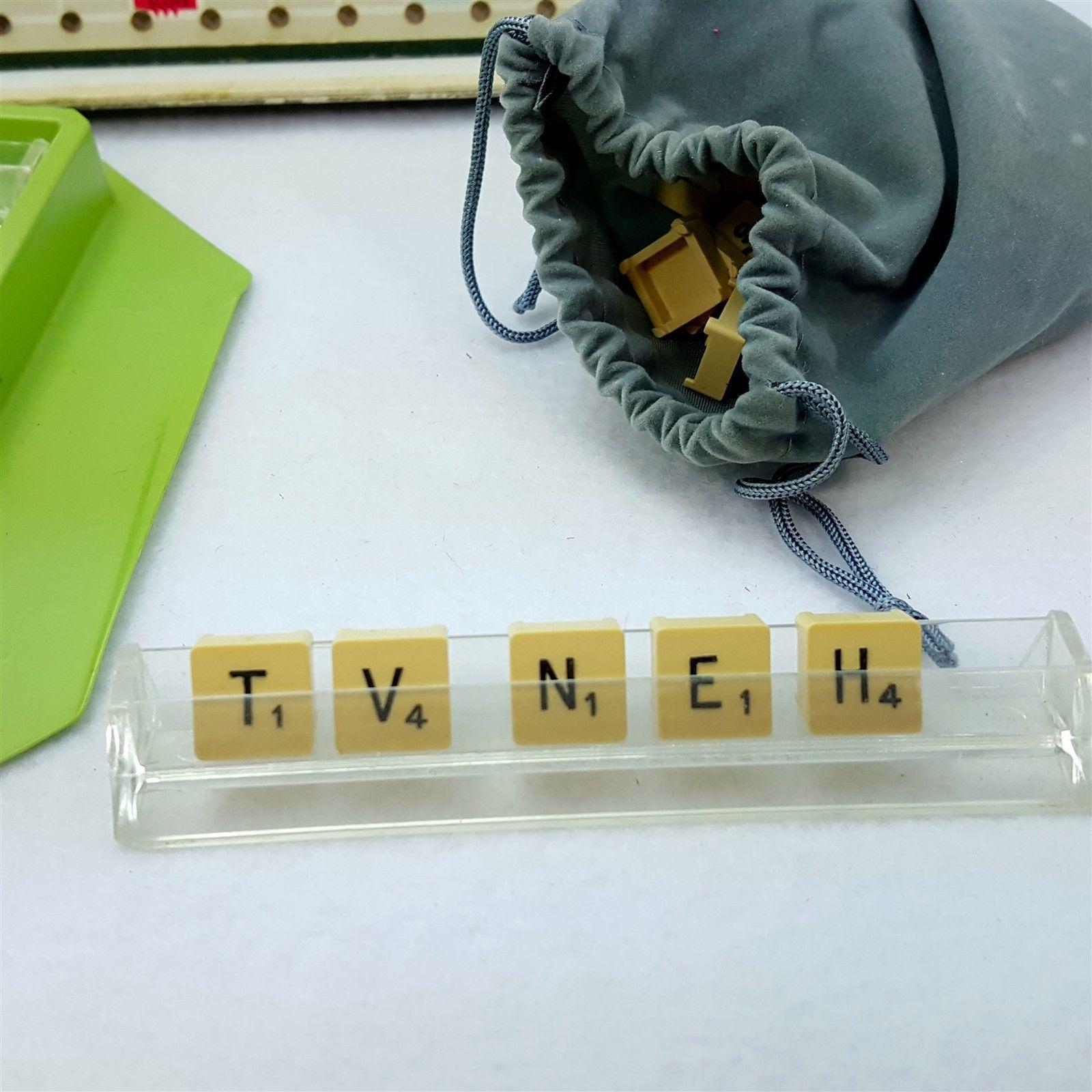 Vintage Travel Scrabble 71