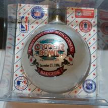 Vintage Christmas Ball University Of Wisconsin Copper Bowl Tuscon Arizon... - $8.21