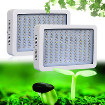 300W LED Grow Light Double Chip COB Indoor Plant Hydroponics System - £36.41 GBP