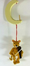 Vintage Midwest Importers Cat and The Fiddle Moon Hanging Christmas Orna... - $12.86