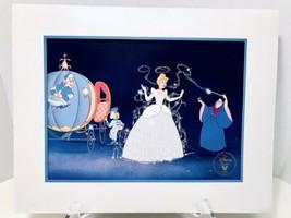 Walt Disney's Masterpiece Cinderella Exclusive Commemorative Lithograph ... - $11.95