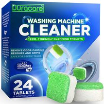 Duracare Washing Machine Cleaner | Heavy-Duty Deep Clean and Deodorize | 24 Tabl - $21.62