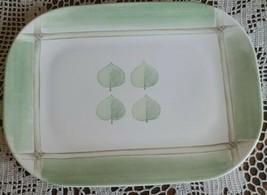 """One (1) Pfaltzgraff Arborwood Aspen Serving Platter ~ 10.75"""" x 14.75"""" x ... - £35.60 GBP"""