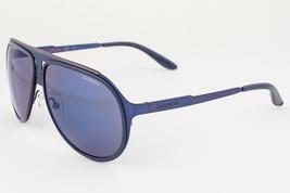 Carrera 100 Matte Blue Ruthenium / Blue Sunglasses 100/S 0HKU  - $97.51