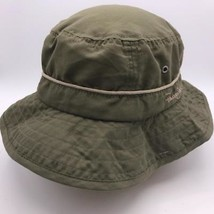Panama Jack Cotton Safari Green Hat Packer Cap L / XL - $18.80