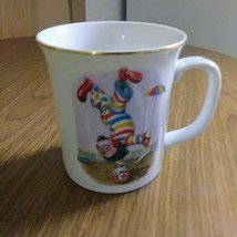 "Whimsical The World of Clowns presents"" Clyde On A Roll LMI 1984 Mug/Cup""    image 6"