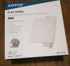 AT-413 Flat-panel Outdoor/Indoor 1080 HD TV Antenna 55 Mile Long Range ... - $28.70