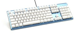 Micronics K735 Mechanical Gaming Keyboard Blue Body (Kailh Box Switch White)