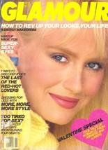 1983 Glamour Magazine Bitten Knudsen Dudley Moore Gia Carangi Vintage Ad... - $30.46