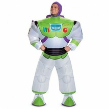 Disguise Toy Story Buzz Lightyear Gonfiabile Adulto Halloween Costume 89... - £48.42 GBP