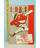 1948 Cleveland Indians Baseball Scorecard Program v Washington Senators ... - $59.35