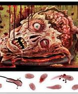 Creepy Severed Head HORROR MICROWAVE DOOR COVER Halloween Party Prop Dec... - $9.87