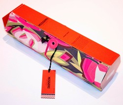 MISSONI for TARGET Floral WINE Carrier TIE Gift BOX Iconic - FREE SHIPPING - $94.97