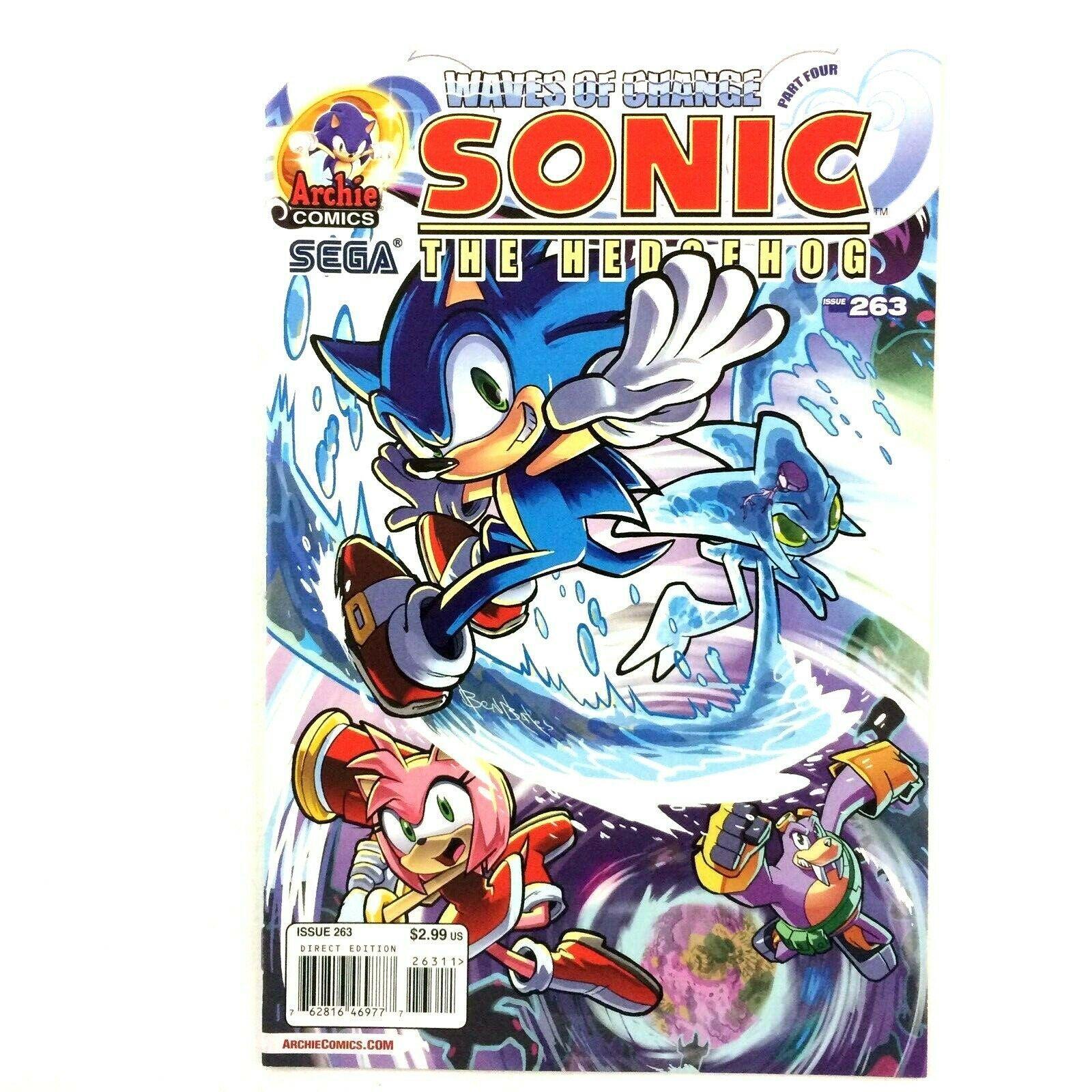 Sonic the Hedgehog #263 2014 NM- Archie Comics Sega Video Game Based Series - $7.87
