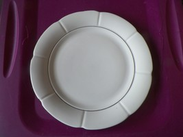 Tabletops unlimited Venetian Silver dinner plate 4 available - $4.70