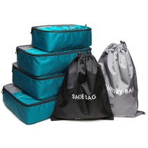 Packing Cube 6 Piece Luggage Compression Bag Travel Accessories Laundry ... - $916,18 MXN