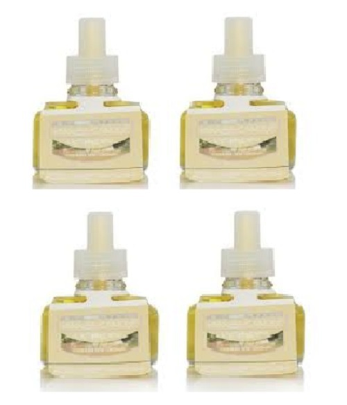 Primary image for Lot of 4 Yankee Candle Homemade Herb Lemonade Scent Plug Refill Bulbs