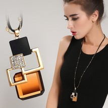 BYSPT Long Necklaces& Pendants for Women Collier Femme Geometric Stateme... - $16.62+