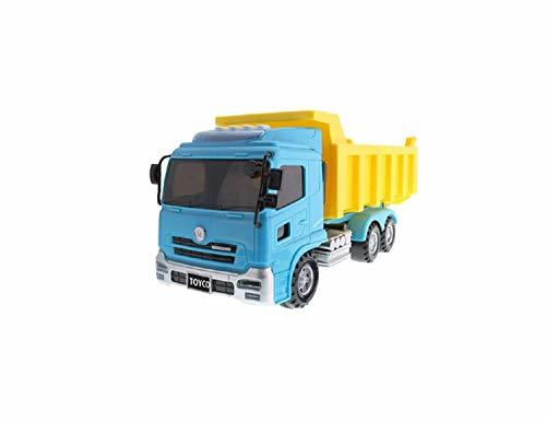 Toyco Toys Action Heavy Equipment Manual Pull Back Dump Truck Car Vehicle Toy (B