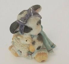 Vintage Enesco Mary's Moo Moos Moo Moo Had A Little Lamb Figure - $18.05